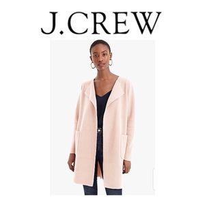 🆕 NWT J.Crew Juliette Sweater-Blazer(Rose-Small)